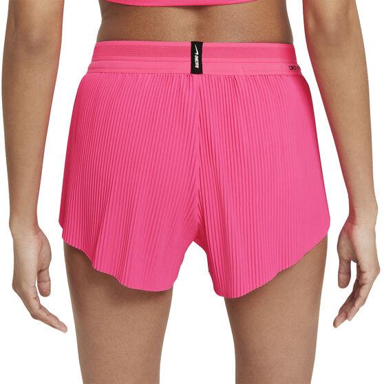 Nike Womens Dri-FIT AeroSwift Running Tights, Pink, rebel_hi-res