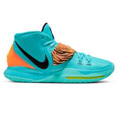 Nike Kyrie VI Mens Basketball Shoes Green/Black US 7, , rebel_hi-res