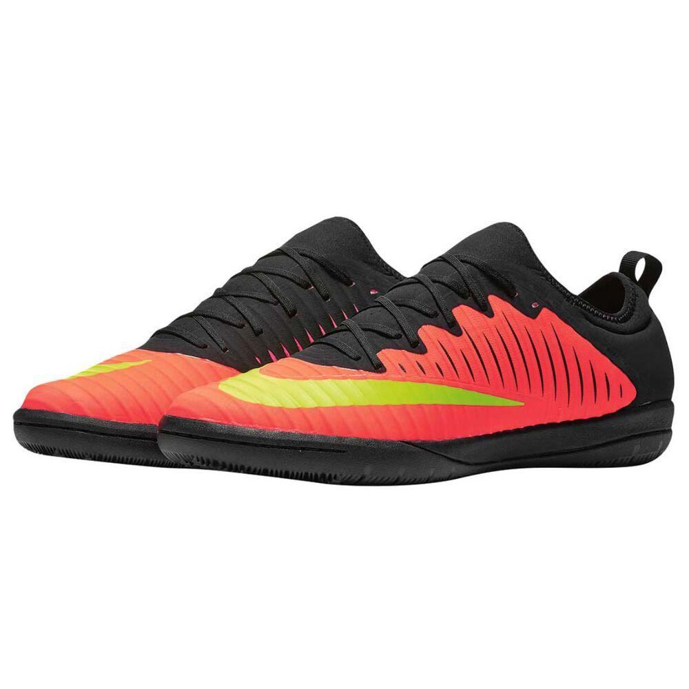 f5782ba48118 Nike MercurialX Finale II Mens Indoor Soccer Shoes Crimson   Volt US 10  Adult