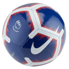 46c9013cbe9 Nike Premier League Pitch Soccer Ball Blue   White 3