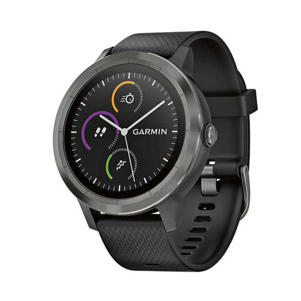 Garmin vivoactive 3 watch gunmetal rebel sport for Watches garmin