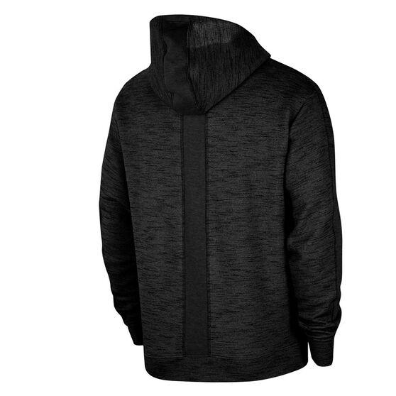 Nike Mens Yoga Full Zip Hoodie, Black, rebel_hi-res