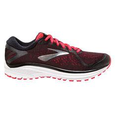 Brooks Aduro 6 Womens Running Shoes Black / Pink US 6, Black / Pink, rebel_hi-res