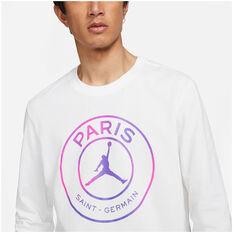 Paris Saint Germain FC Mens Top, White, rebel_hi-res