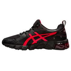 Asics GEL Quantum 180 Mens Casual Shoes Black/Red US 7, Black/Red, rebel_hi-res