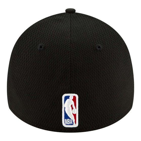 Los Angeles Clippers New Era 9FORTY Back Half Stretch Snap Cap, Black, rebel_hi-res