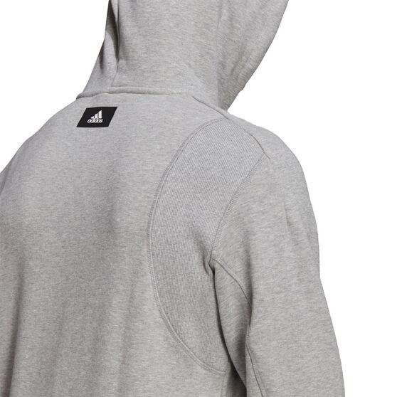 adidas Mens FI Hoodie, Grey, rebel_hi-res