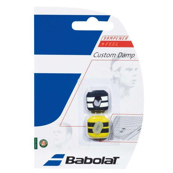 Babolat 2 Pack Custom Damps Yellow / Black, , rebel_hi-res