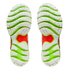 Asics GEL Nimbus 22 Lite Show Mens Running Shoes, White/Red, rebel_hi-res