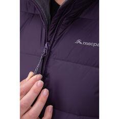 Macpac Womens Halo Jacket, Purple, rebel_hi-res