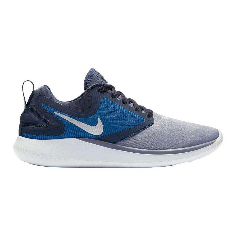 df550d6c4908 Nike LunarSolo Boys Running Shoes Blue   White US 4