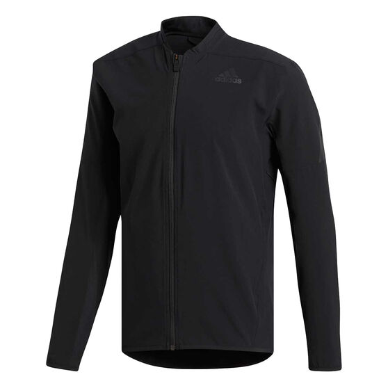 adidas Mens AEROREADY 3 Stripes Training Jacket, Black, rebel_hi-res