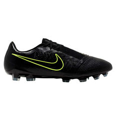 Nike Phantom Venom Elite Football Boots Black / Yellow US Mens 7 / Womens 8.5, Black / Yellow, rebel_hi-res