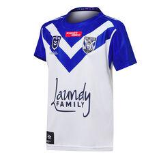 Canterbury-Bankstown Bulldogs 2021 Kids Home Jersey Blue 8 Blue, Blue, rebel_hi-res