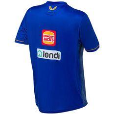 West Coast Eagles 2021 Mens Training Tee Blue S, Blue, rebel_hi-res