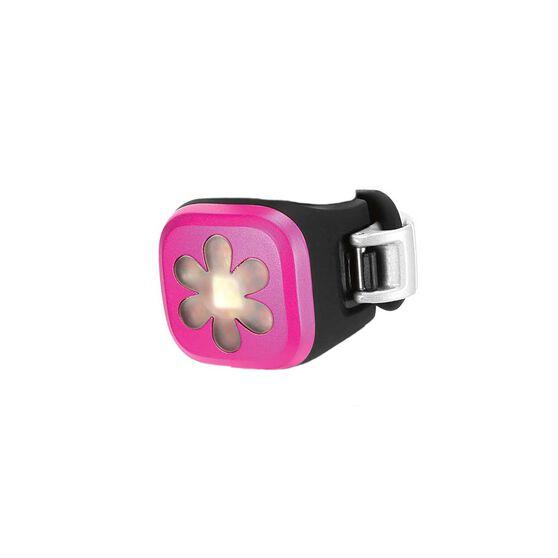 Knog Blinder 1 Flower Rear Bike Light Pink, , rebel_hi-res