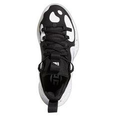 adidas Harden Stepback 2 Kids Basketball Shoes, Black/Silver, rebel_hi-res