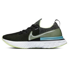 Nike React Infinity Run Flyknit Womens Running Shoes Black/White US 6, Black/White, rebel_hi-res