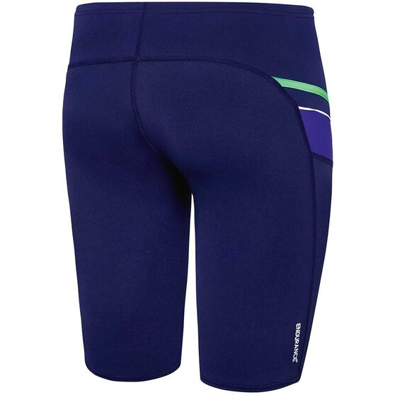 Speedo Mens Macca Jammer, Blue / Green, rebel_hi-res