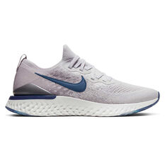 Nike Epic React Flyknit 2 Mens Running Shoes Grey / Silver US 7, Grey / Silver, rebel_hi-res