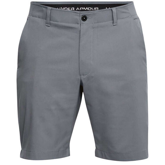 Under Armour Mens Showdown Golf Shorts, Black, rebel_hi-res