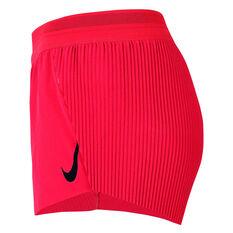 Nike Womens AeroSwift Running Shorts Red XS, Red, rebel_hi-res