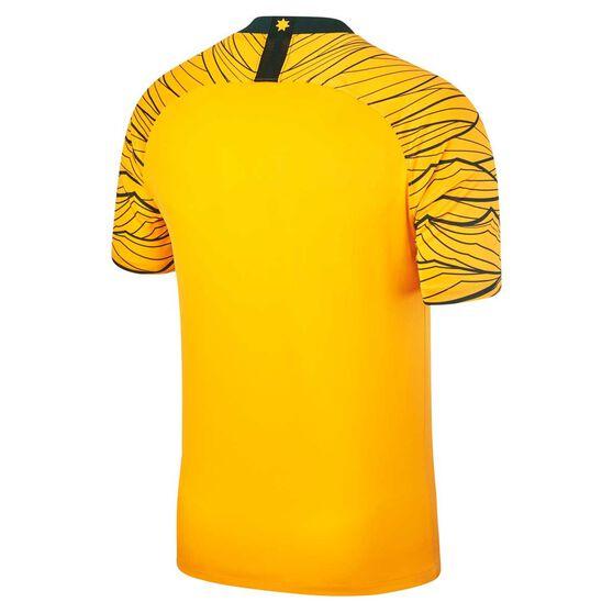 Socceroos 2018 Mens Home Football Jersey S, , rebel_hi-res