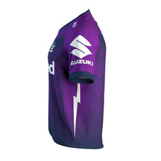 Melbourne Storm 2020 Mens Home Jersey, Purple, rebel_hi-res
