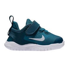Nike Free RN 2018 Kids Running Shoes Blue US 2, Blue, rebel_hi-res