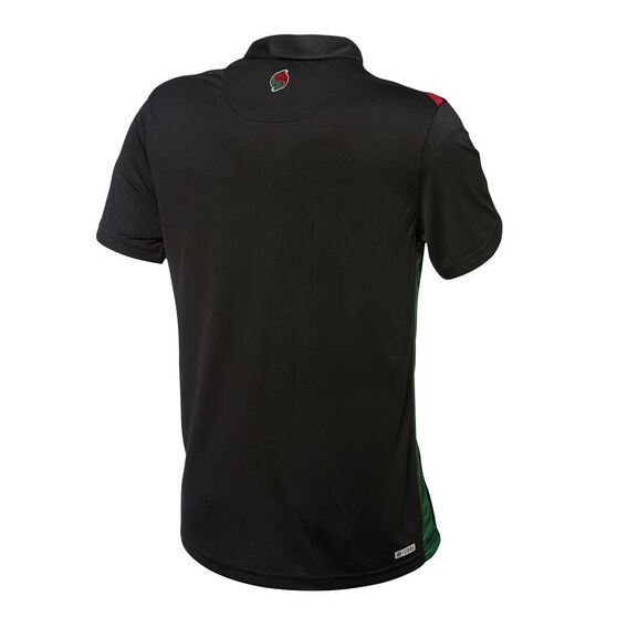 South Sydney Rabbitohs 2019 Mens Performance Polo, Black, rebel_hi-res