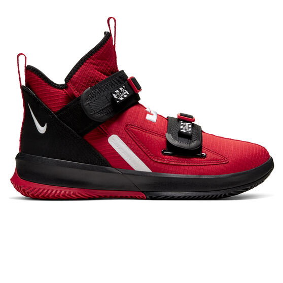 Nike LeBron Soldier XIII SFG Mens Basketball Shoes, Red / White, rebel_hi-res
