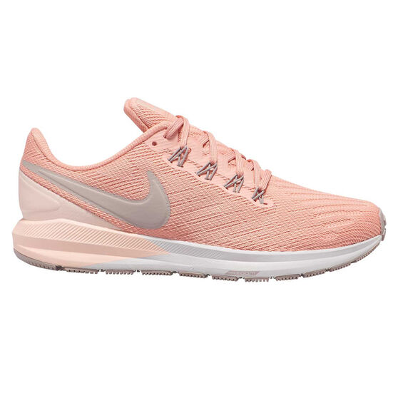 Nike Air Zoom Structure 22 Womens Running Shoes, Pink / Grey, rebel_hi-res
