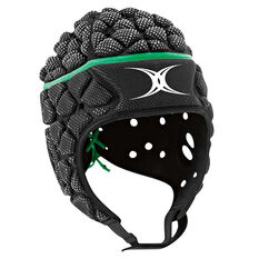 Gilbert Xact Headgear Black S, Black, rebel_hi-res