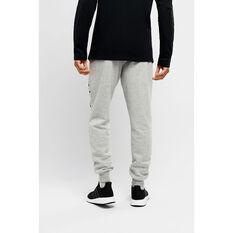 Champion Mens Script Cuff Pants Grey S, Grey, rebel_hi-res