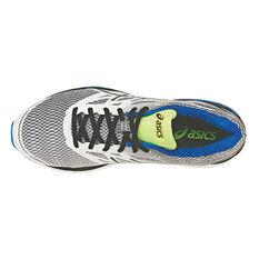 Asics Gel Cumulus 18 Mens Running Shoes Silver / Black US 7, Silver / Black, rebel_hi-res