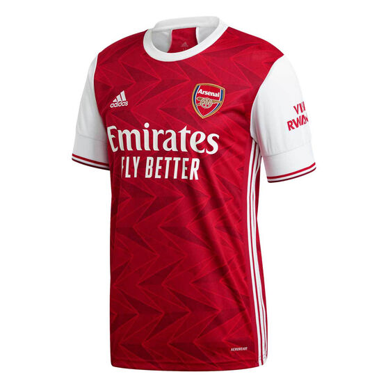 Arsenal FC 2020/21 Mens Home Jersey, Red, rebel_hi-res