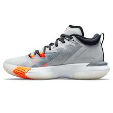 Jordan Zion 1 Light Smoke Grey Basketball Shoes Grey US 7, Grey, rebel_hi-res