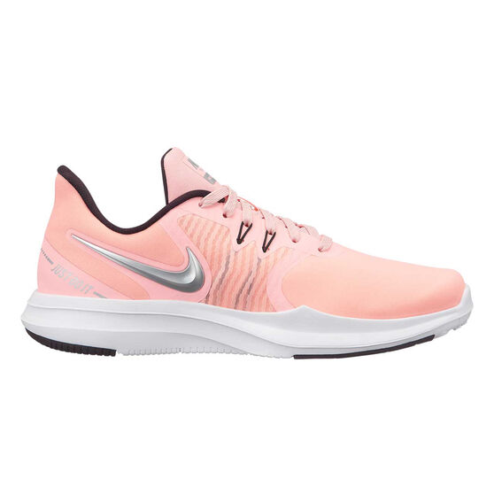 Nike In Season TR 8 Womens Training Shoe, Pink / Green, rebel_hi-res