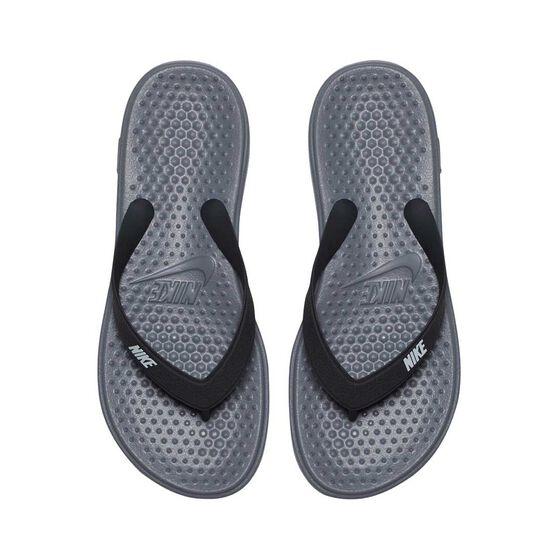Nike Solay Boys Thongs, Grey / Silver, rebel_hi-res