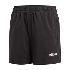 adidas Boys Essential Chelsea Shorts Black / White 6, Black / White, rebel_hi-res