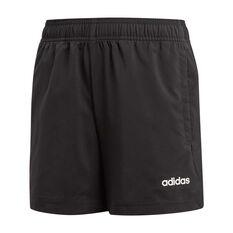 adidas Boys Essential Chelsea Shorts Black / White 6, Black / White, rebel_hi-res