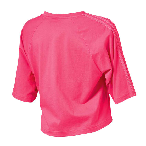 adidas Womens Sport ID Tee, Pink, rebel_hi-res