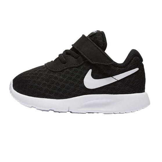 Nike Tanjun Toddlers Shoes, Black / White, rebel_hi-res
