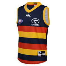 Adelaide Crows 2020 Kids Home Guernsey Navy 6, Navy, rebel_hi-res