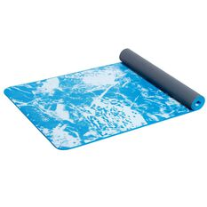 Gaiam Essential Yoga Mat 4.5mm Cyan, , rebel_hi-res