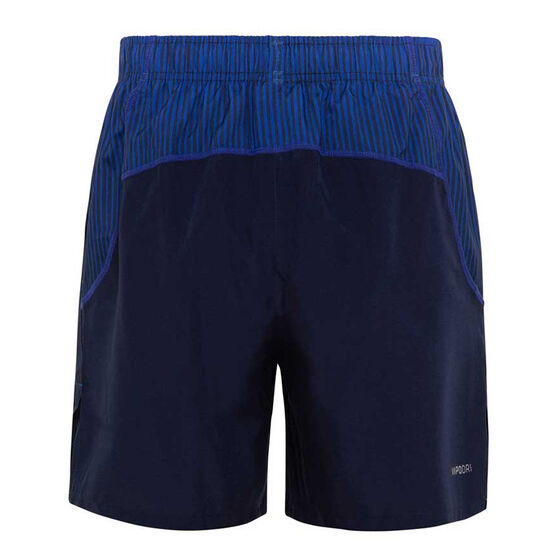 North Melbourne Kangaroos 2020 Mens Gym Shorts, Navy, rebel_hi-res