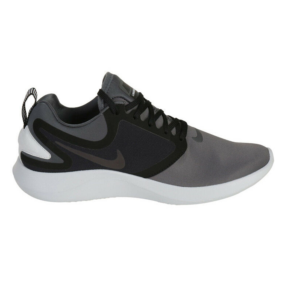 Nike LunarSolo Mens Running Shoes Black Grey US 7