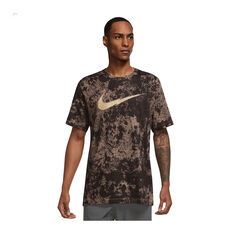 Nike Mens Dri-FIT Story Pack Training Tee Brown XS, , rebel_hi-res