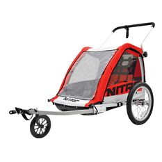 Nitro Bike Trailer Red, , rebel_hi-res