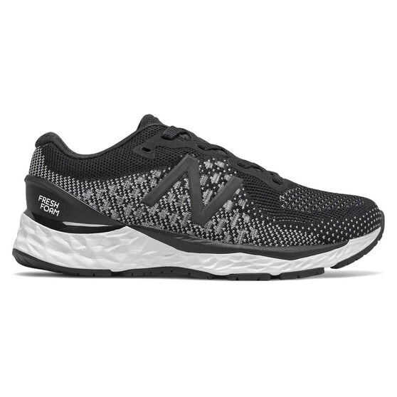 New Balance 880v10 Kids Running Shoes, Black / White, rebel_hi-res